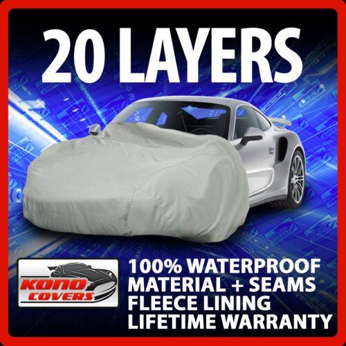 20 Layer Car Cover Fleece Lining Waterproof Soft Breathable Indoor Outdoor 17339