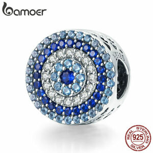BAMOER-Solid-925-sterling-silver-Dangle-charm-The-Magic-Eye-with-CZ-Fit-bracelet