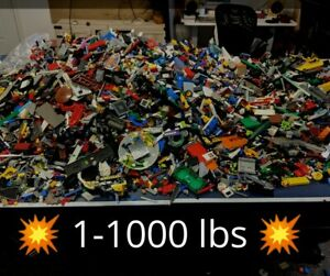 1-to-1000-POUNDS-LB-of-LEGO-PIECES-FROM-HUGE-BULK-LOT-PARTS