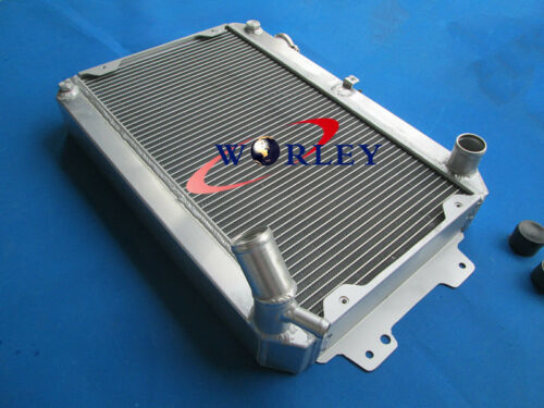 Aluminum Radiator+Oil cooler for Mazda RX7 Series 1 2 3 S1 S2 S3 SA//FB 79-85 MT