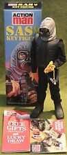 vintage action man 40th anniversary sas eagle eye soldier gripping hands  boxed