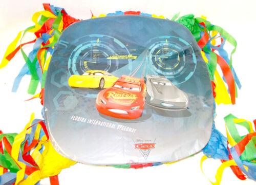 Cars 3 Lightning McQueen Cruz Ramirez Jackson Strom Party Pinata Custom NeW