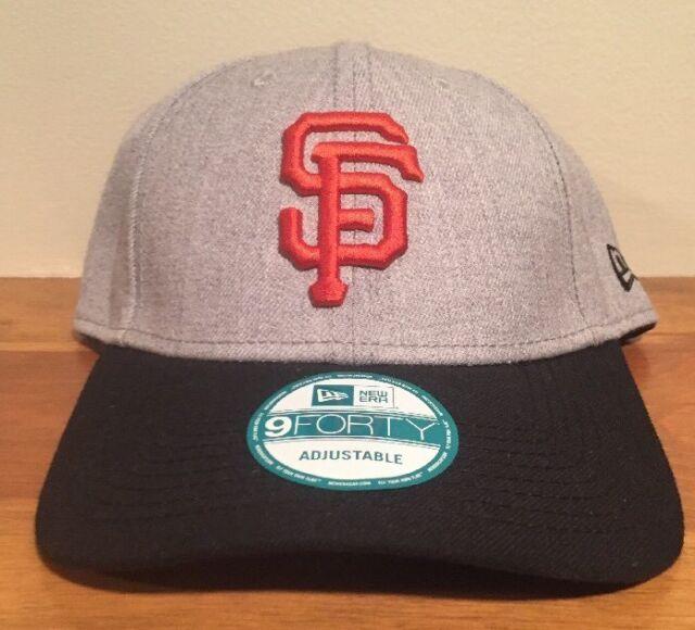 the latest 3e26f e5aca Era 2018 MLB San Francisco Giants Baseball Cap Hat 9forty 940 Adjustable