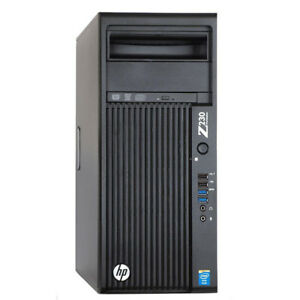 Pc-WORKSTATION-HP-Z230-SSD-INTEL-i7-4770-32GB-RAM-NVIDIA-K2200-HARD-DISK-WIN