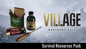 Resident Evil Village DLC XBox One Series X SURVIVAL RESOURCES PACK