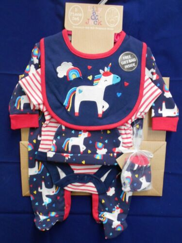 BABY GIRL 5 PIECE SET//OUTFIT LILY /& JACK BRAND NEWBORN MULTI COLOUR