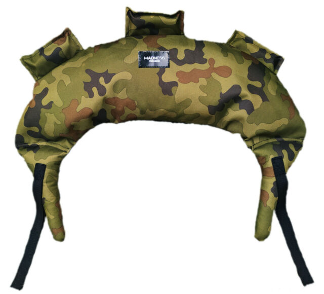 Sport sand bag of Bulgarian style crossfit  filler from 1 to 10kg camo