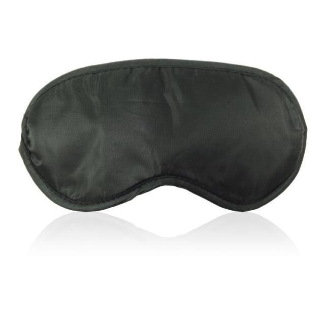 polyester Sleep Sleeping soft Eyepatch Eye Mask Patch Shades Cover black