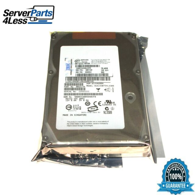 HP Hitachi Ultrastar 15K300 SAS HDD Treiber Windows 7