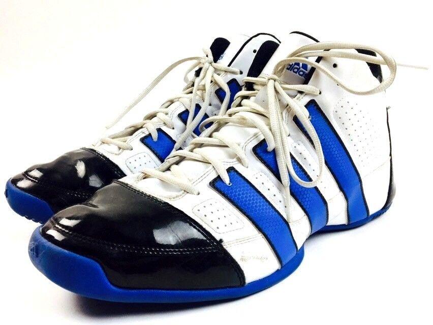ADIDAS Basketball Shoes High Top Sneakers NBA RUN DMC Adidas shoes NBA Sneakers Rap Size 15 28a536
