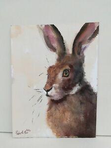 Hare-ORIGINAL-Watercolour-Painting-93