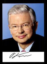 Roland Koch Autogrammkarte Original Signiert  ## BC 99251