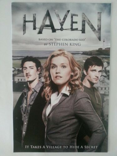 SDCC Comic Con 2014 Handout Stephen King HAVEN poster IT TAKES A VILLAGE TO HIDE