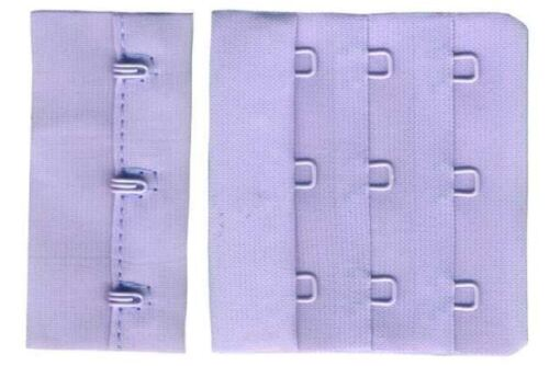 57mm Lilac 3 Hook Bra Back Replacement