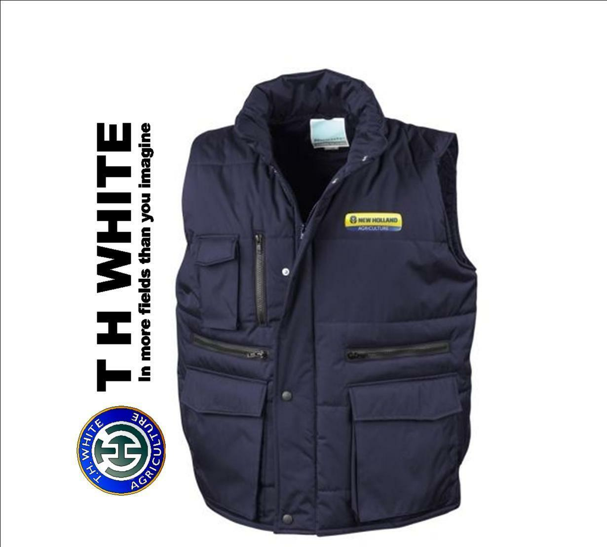 NEW HOLLAND RESULT WORK GUARD BODYWARMER GILET NHA1018X  NEW (SS)