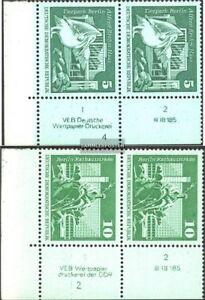 DDR-1842DV-1843DV-mit-Druckvermerk-kompl-Ausg-postfrisch-1973-Aufbau-in-der-D