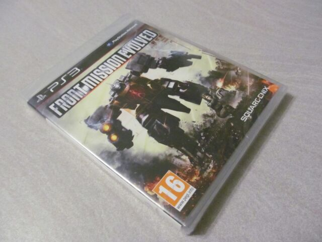 NEUF NEW front mission evolved square enix playstation PS3 français