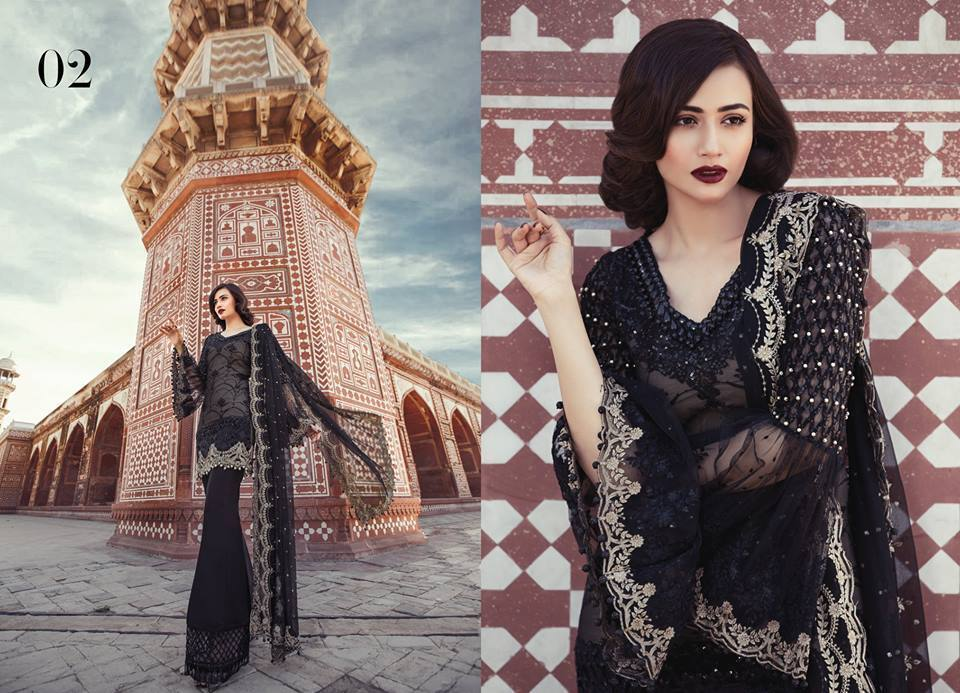 Maria B EMBROIDERED Eid Collection Design 2