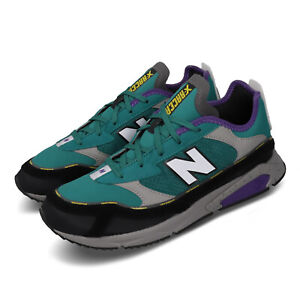 New-Balance-X-Racer-Green-Grey-Purple-Mens-Lifestyle-Running-Shoes-MSXRCHSC-D