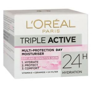Acti-cell Triple Protection Day Cream For Dry Skin 50ml Bioelements Brilliantly Brighter Duo