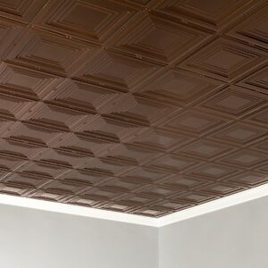 Details About Fasade 2ft X 4ft Portrait Glue Up Ceiling Tile Ceiling Panel