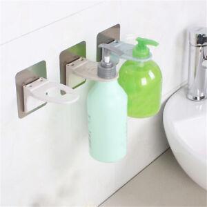 Image Is Loading Wall Mounted Magic Sticky Shampoo Hook Shower Hand