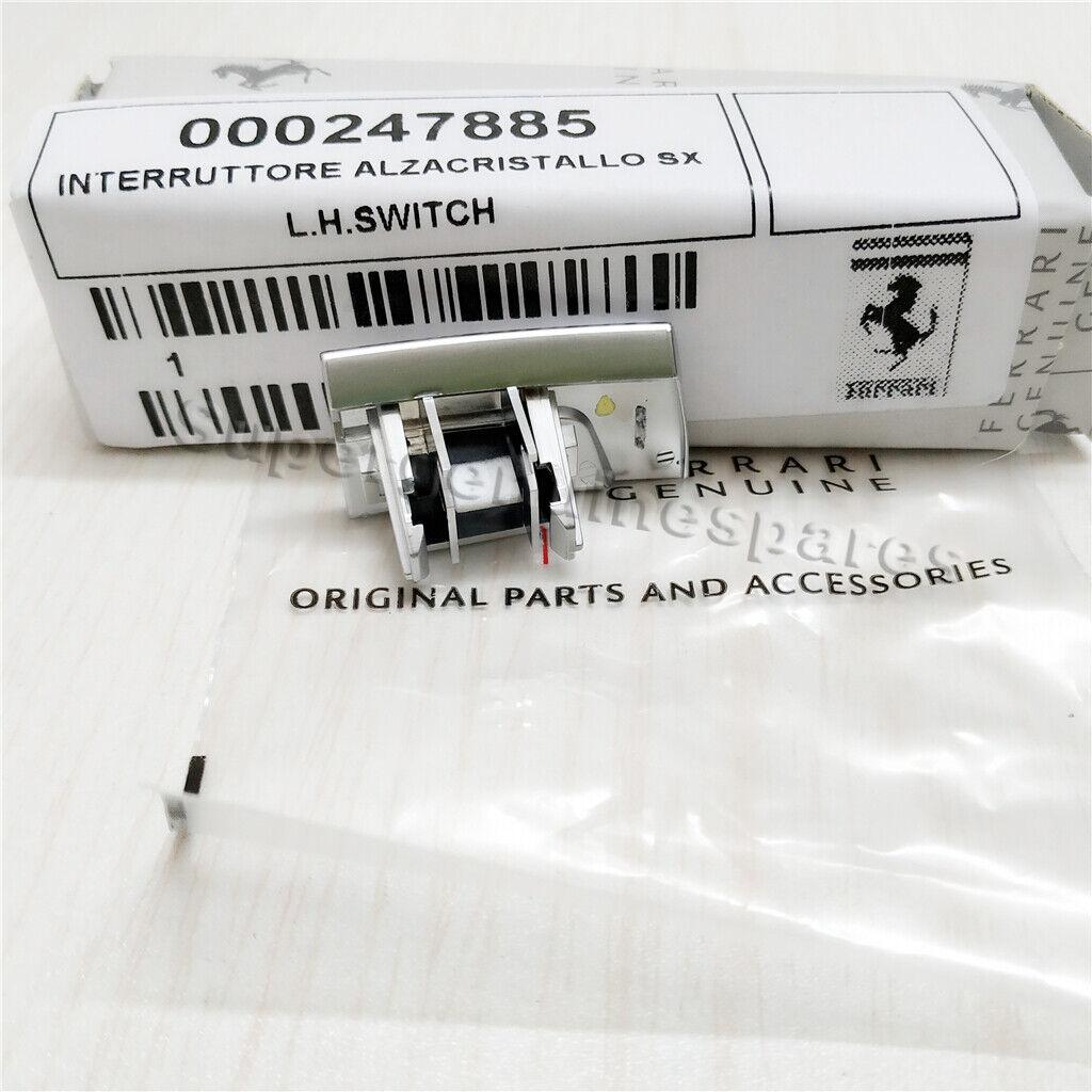 Ferrari 458,488,FF LH,RH Power Window Switches Set OE 247885,247883
