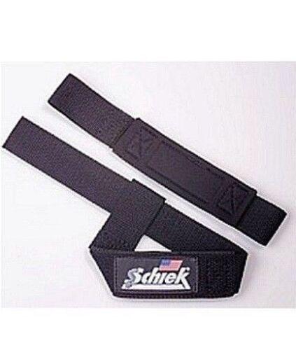 Schiek Fitness Basic Padded Lifting Strap Wrist Wrap 1000PLS Support