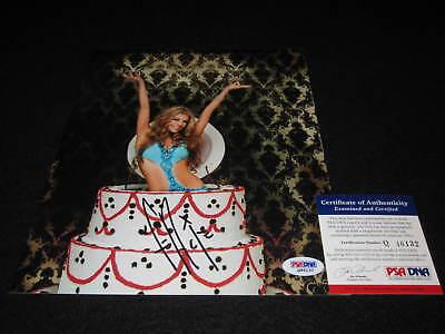 Fergie Signed 8x10 Photo Psa/dna Black Eyed Peas Bep Stacy Ferguson Music
