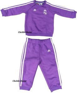Adidas Real Madrid Baby Trainingsanzug 3S Baby Jogger Set
