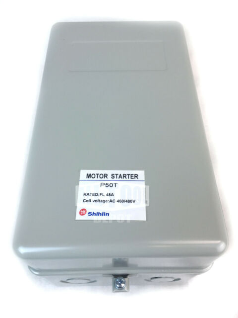 MS-50T Shihlin Magnetic Motor Starter 25HP 460V 48Amp 3-Phase