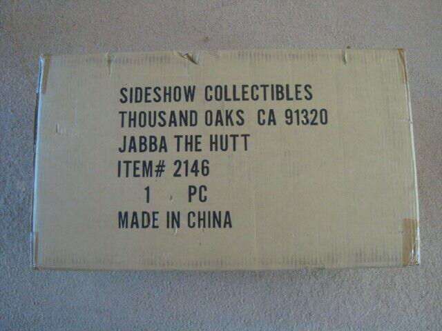 Nuevo en caja Estrella Wars Jabba el trasero 1 6 escala escala orden de Jedi SIDESHOW Exclusivo