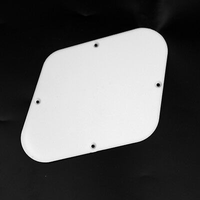 Round  //White Plastic Switch Cavity Backplate  for LP style Guitar