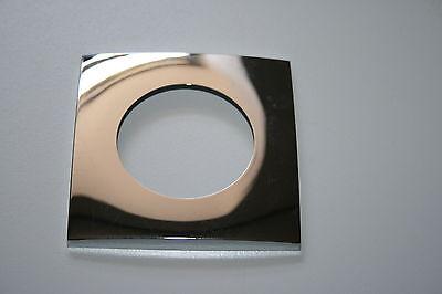 Blende quadratisch mit scharfen Kanten 9AB 344 058-061 Hella Chrom Abdeckung