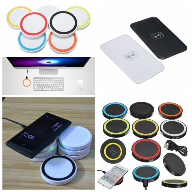 Q5 QI Wireless Charging Charger Pad for iPhone 6s plus Galaxy S7 Edge Note 5