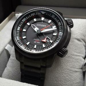Citizen-Promaster-Box-Date-Eco-Drive-Solar-Mens-Watch-Authentic-Working