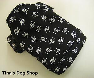 Totenkopf-Skull-Coole-Hundejacke-Hundebekleidung-Hundemantel-034-Tina-s-Dog-Shop-034