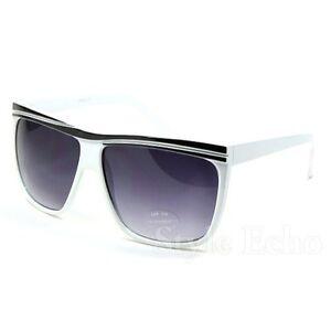 Retro-Vintage-Flat-Top-Women-Men-Square-Aviator-Sunglasses