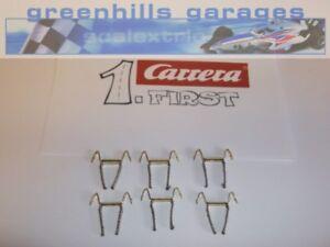 Fermeture Scalextric Carrera Premier Double Contact Brosses/tresses X 6-neuf...-afficher Le Titre D'origine à Distribuer Partout Dans Le Monde