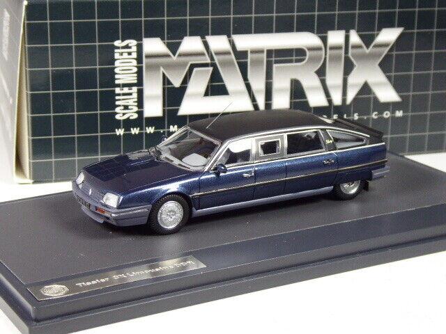 Ki0821 Matrix CITROEN CX Tissier limousine in 1 43 IN SCATOLA ORIGINALE