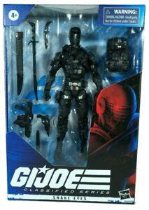 Vorbestellung-Hasbro-6-034-GI-Joe-klassifiziert-Wave-1-Snake-Eyes-Action-Figur-Vorbestellung