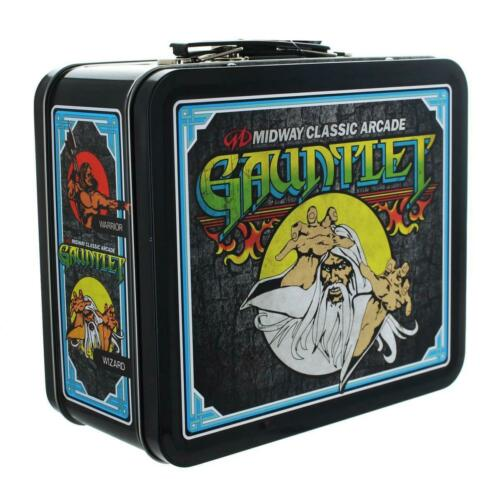 Midway Classic Arcade Tin Lunch Box Gauntlet