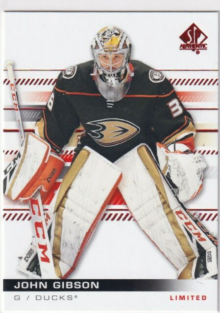 19/20 UD SP AUTHENTIC JOHN GIBSON LIMITED RED PARALLEL #12