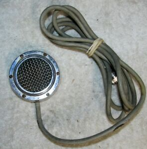 Vintage SHURE BROTHERS 70H 70 H Crystal Stage Microphone Mic J0382 - Lowell, Indiana, United States - Vintage SHURE BROTHERS 70H 70 H Crystal Stage Microphone Mic J0382 - Lowell, Indiana, United States