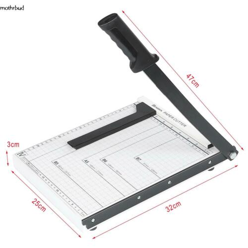 10Sheet Professional Accurate Guillotine Paper Cutter A4 Paper Trimmer Fast Ship