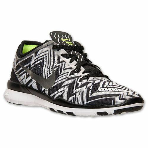 super cute 6bbbd 319e1 New Nike Women s Free 5.0 TR Fit 5 PRT Training Shoe Black White 704695-