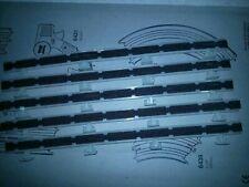 2pc TYCO Slot Car Track RACE TRACK Guard Rail FLAG ACCESSORY KITs 6740 /& 6794