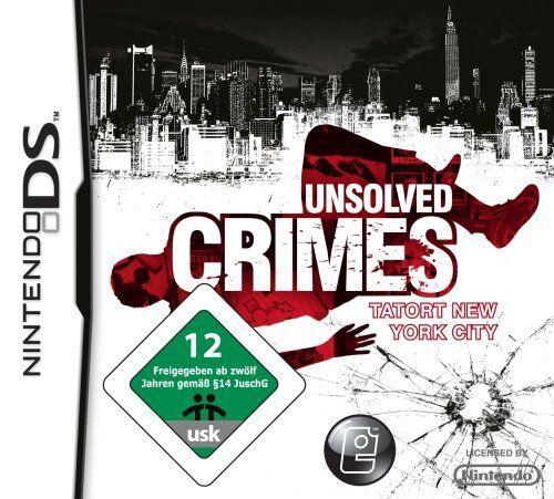 1 von 1 - Unsolved Crimes Tatort New York City, Nintendo DS, NDS Lite, NEU/OVP
