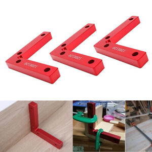 2Piece 90 Degree Positioning Squares 120x 120mm Right Angle Clamps Wood Tool