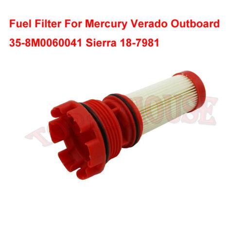 Fuel Filter Fit Mercury Verado Outboard 35-8M0060041 Sierra 18-7981